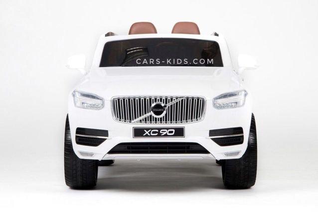 Электромобиль VOLVO XC90 черный (усиленный аккумулятор, резина, кожа, пульт, музыка, ГЛЯНЦЕВАЯ ПОКРАСКА)
