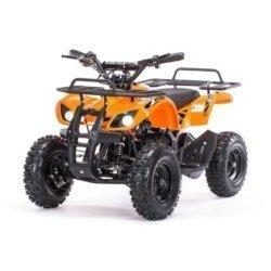 Детский квадроцикл на аккумуляторе MOTAX Mini Grizlik Х-16 мощностью 1000W оранжевый (пульт контроля, до 35 км/ч)