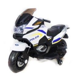 Электромотоцикл Moto XMX609 Police (колеса резина, сиденье кожа, музыка, страховочные колеса)